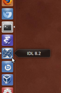 A Unity launcher icon for the IDL Workbench