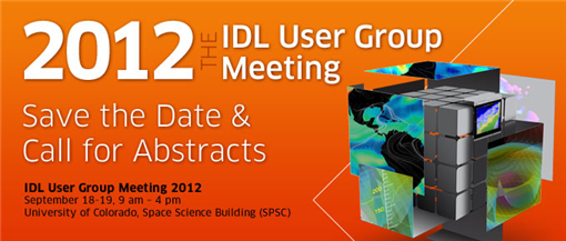 IDL User Group Meeting 2012